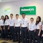Unimed – oferece vaga para Telemarketing Salário + VT VR e VA Plano de saúde e odontológico,Auxílio creche,Seguro de Vida e participação nos resultados da empresa.