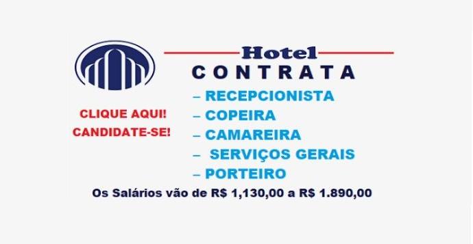 HOTEL CONTRATA PARA DIVERSOS CARGOS.