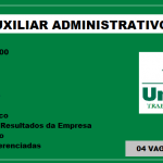 Unimed – abre vaga para Aux. Administrativo Salário R$2.230,00 – Não é necessário ter experiência!!