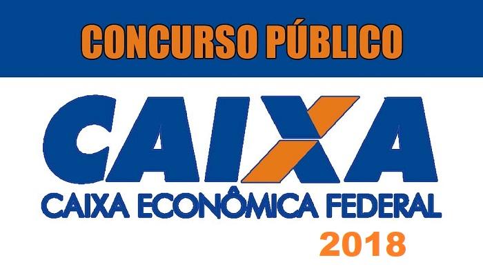 CONCURSO CEF -NÍVEL MÉDIO  SALÁRIO ATÉ R$ 18.984,00.